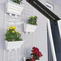 WIRE MESH / BESI RAM untuk rak pot tanaman dan pajangan