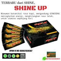 SHINE UP Minuman Energy Stamina Herbal White Gingseng ecer sachet