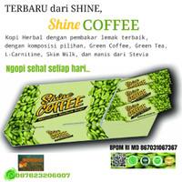 SHINE COFFEE Green Kopi Hijau Tea Instan Diet L-Carnitine Diabetes