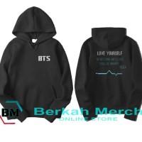 jaket sweater hoodie wanita BTS love yourself suga - hitan 03
