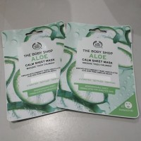 The Body Shop ALOE Calm Sheet Mask Masker Wajah