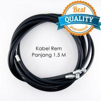 Kabel Rem / Kawat Rem / Tali Rem Sepeda Mini / Sepeda MTB - 2 PCS
