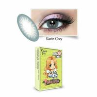 Shin Manga Karin Grey normal minus s/d-3.00 no ring 15.5 mm - Softlens