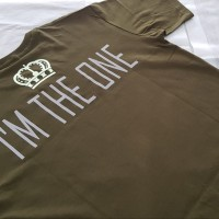 Kaos T-shirt Print I'm The One (glow in the dark + reflective)