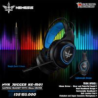 Headset Gaming NYK Jugger HS-M01 - NYK Jugger HS-M01 Full Power Stereo