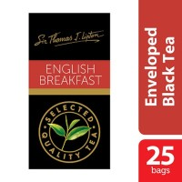 Lipton Teh Celup English Breakfast - Isi 25 Sachet x 2.4gr