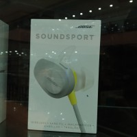 BOSE SOUND SPORT WIRELLES earphone (ORI DAN RESMI)