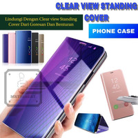 XIAOMI REDMI S2 FLIP CASE CLEAR VIEW STANDING SARUNG BACK COVER