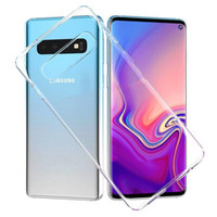 SAMSUNG Galaxy S10 / S10+ / S10e - Ultra Thin Slim TPU Soft Case CLEAR
