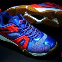 Sepatu Badminton, Lining Omega, Royal Blue 42.