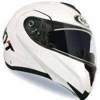 Helm KYT RRX Modular Full Face White
