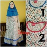 Usia 8 - 9 Tahun Baju Muslim Gamis anak Perempuan Limited