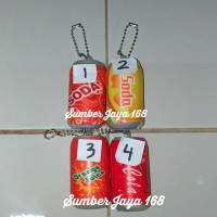 Squishy Murah Cute Mini Can Soft Drink Squishy Kaleng Soda Orange Cola
