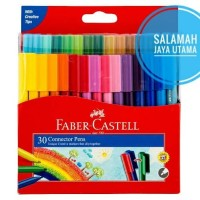 Connector Pen 30 Warna Faber Castell