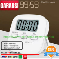 Digital Kitchen Timer / Alarm / Alarm Masak Dapur / Stopwatch - 003