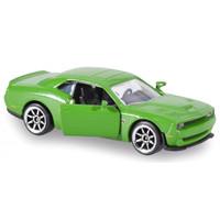Majorette Premium Cars Dodge Challenger SRT Hellcat Green