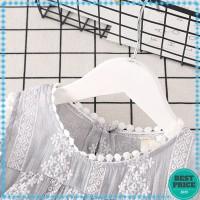 Blus Casual Tanpa Lengan Motif Print Bunga untuk Bayi Perempuan /