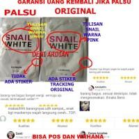 Whitening Masker Snail White Masker Pemutih Snailwhite Original Aman