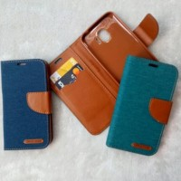 HOT TERMURAH CANVAS DIARY GRANDPRIME Flip Case Samsung Grand Prime