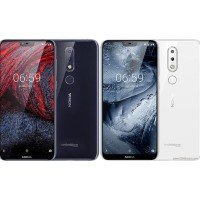 TERBAIK Nokia 6.1 Plus Smartphone 64 GB/ 4 GB - Putih