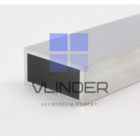 Hollow Aluminium 100 x 50 mm, t. 2 mm