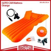 matras mobil car matras Goto Mattress kasur mobil tiup orange