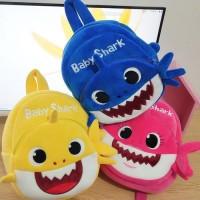 Tas Baby Shark Import, Tas Ransel Anak, Tas Sekolah