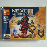 LEGO LELE NEXO SOLDIERS KNIGHT