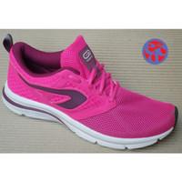 Sepatu lari Decathlon Kalenji Women Run Active fuchsia pink