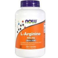 Now Foods, L-Arginine, 500 mg, 250 Capsules / Now Food L-Arginine