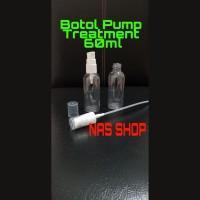 Botol Pump Treatment 60ml / Botol Serum / Botol Sabun