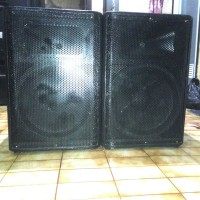 Sound System Speaker Aktif 2 Way Ukuran 15 + Twitter