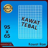Kawat Ram 95 x 65 cm Buat Pajangan Rak Display aksesoris HP