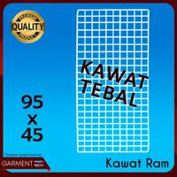 Ram Kawat 95 x 45 cm Buat Pajangan Rak Display aksesoris HP
