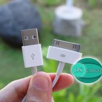Kabel Data iPhone 4 4s dan iPad 1 2 3 Bergaransi 1 Bulan Charger Cas