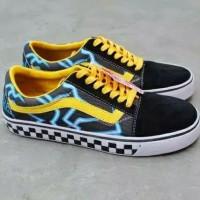 Sepatu Vans Old Skool Pria Trendy Terbaru Bagus