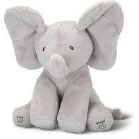 boneka mainan anak bayi peek a boo gajah cilukba bernyanyi