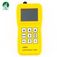 "Portable LM500 Digital Leeb Hardness Tester High-Definiation 2.4"" IPS"