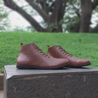 Sepatu Kulit Asli Local Made Premium Semi Boots
