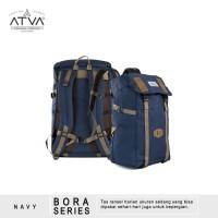Tas Ransel Backpack Rucksack Laptop Pria Wanita - Rayleigh Bora Navy
