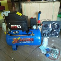 Mesin Kompresor angin listrik 1 HP / 1 PK Lakoni Imola 125