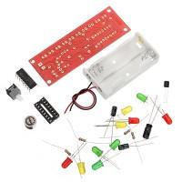 Terlaris 10Pcs CD4017 Light Water Voice Control Water Lamp