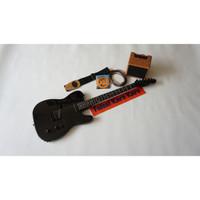 Gitar Listrik Fender Telecaster Full Hitam New Paketan
