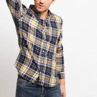 MENTLI Kemeja Flanel Pria - Arvin Flannel Shirt