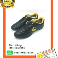 promo!!! sepatu futsal kelme power grip black-gold