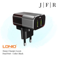 LDNIO A2206 - Home Charger Dual USB Port Fast Portable Charger