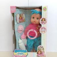 Sweet Baby Doll, Mainan Boneka Bisa Pipis, Bersuara Seperti Bayi