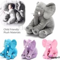 Nax-cute Bantal Boneka Plush Desain Gajah untuk Anak Kecil