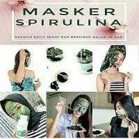 masker herbal spirulina tiens 50 kapsul asli segel