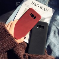 untuk Huawei P9 P10 Plus Lite Anti Fingerprint Case Soft Silicone Matt